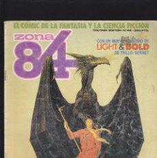 Cómics: ZONA 84 ZONA84 - Nº 42 DE 96 - XI-1987 - TOUTAIN -. Lote 208425957