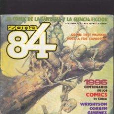 Comics : ZONA 84 ZONA84 - Nº 68 DE 96 - I-1990 - TOUTAIN -. Lote 208483503
