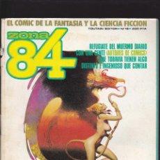 Cómics: ZONA 84 ZONA84 - Nº 16 DE 96 - IX-1985 - TOUTAIN -. Lote 209003602
