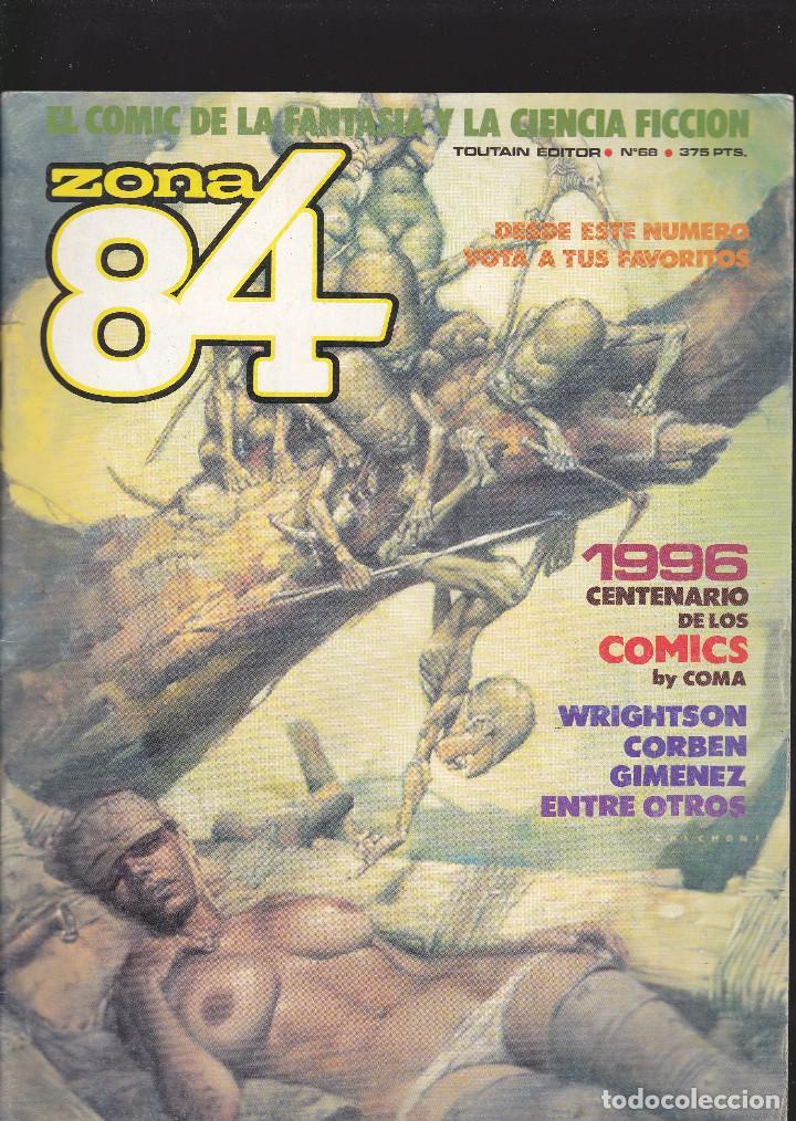 ZONA 84 ZONA84 - Nº 68 DE 96 - I-1990 - TOUTAIN -3- (Tebeos y Comics - Toutain - Zona 84)