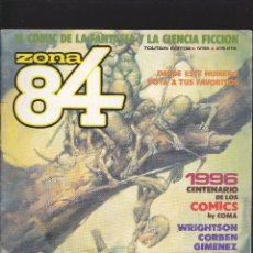 Comics : ZONA 84 ZONA84 - Nº 68 DE 96 - I-1990 - TOUTAIN -3-. Lote 209007175