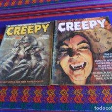 Cómics: CREEPY SEGUNDA ÉPOCA NºS 6 Y 17. TOUTAIN EDITOR 1990. 375 PTS.. Lote 209007865
