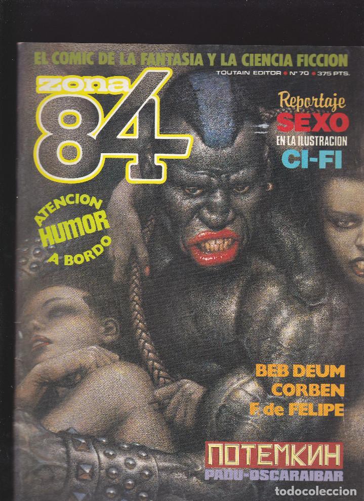 ZONA 84 ZONA84 - Nº 70 DE 96 - III-1990 - TOUTAIN - (Tebeos y Comics - Toutain - Zona 84)