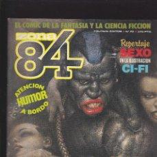 Comics : ZONA 84 ZONA84 - Nº 70 DE 96 - III-1990 - TOUTAIN -. Lote 209009237