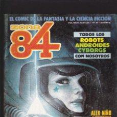 Comics : ZONA 84 ZONA84 - Nº 71 DE 96 - IV-1990 - TOUTAIN -. Lote 209009577