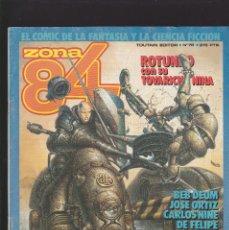 Comics : ZONA 84 ZONA84 - Nº 76 DE 96 - IX-1990 - TOUTAIN -. Lote 209232296
