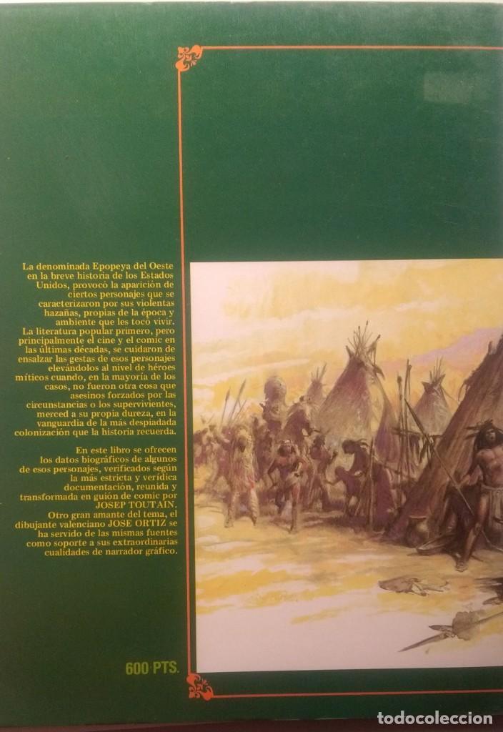 Cómics: GRANDES MITOS DEL OESTE COMPLETA 2 TOMOS - JOSE ORTIZ - 1ª EDICIÓN - TOUTAIN - 1987 - ¡NUEVA! - Foto 4 - 209260182