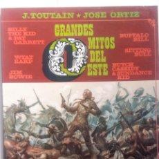 Comics: GRANDES MITOS DEL OESTE COMPLETA 2 TOMOS - JOSE ORTIZ - 1ª EDICIÓN - TOUTAIN - 1987 - ¡NUEVA!. Lote 209260182