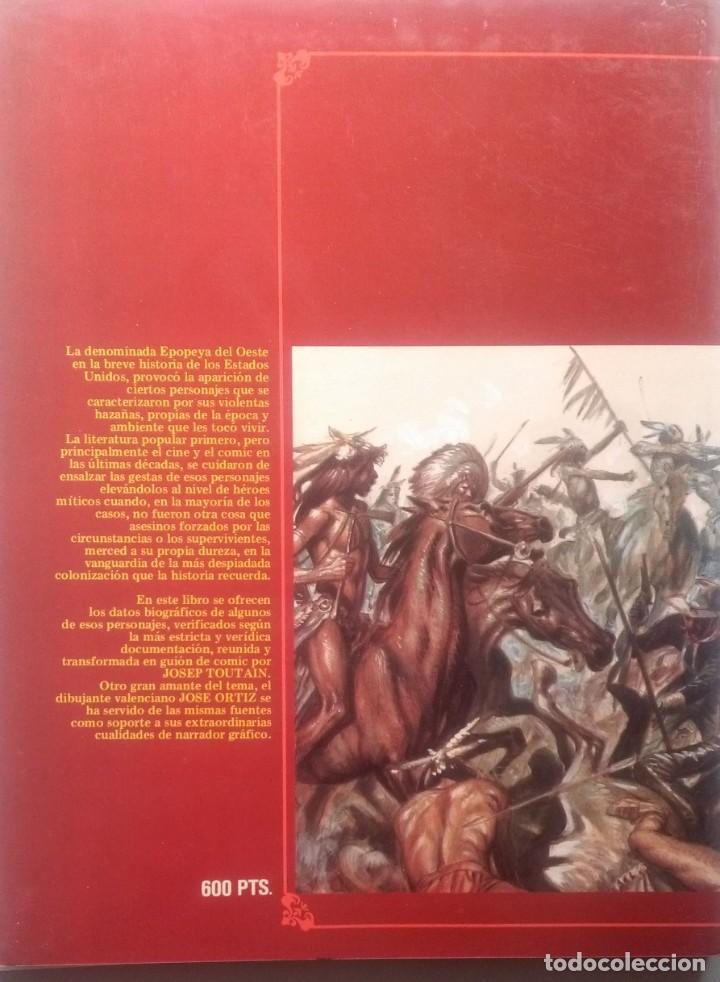 Cómics: GRANDES MITOS DEL OESTE COMPLETA 2 TOMOS - JOSE ORTIZ - 1ª EDICIÓN - TOUTAIN - 1987 - ¡NUEVA! - Foto 2 - 209260182