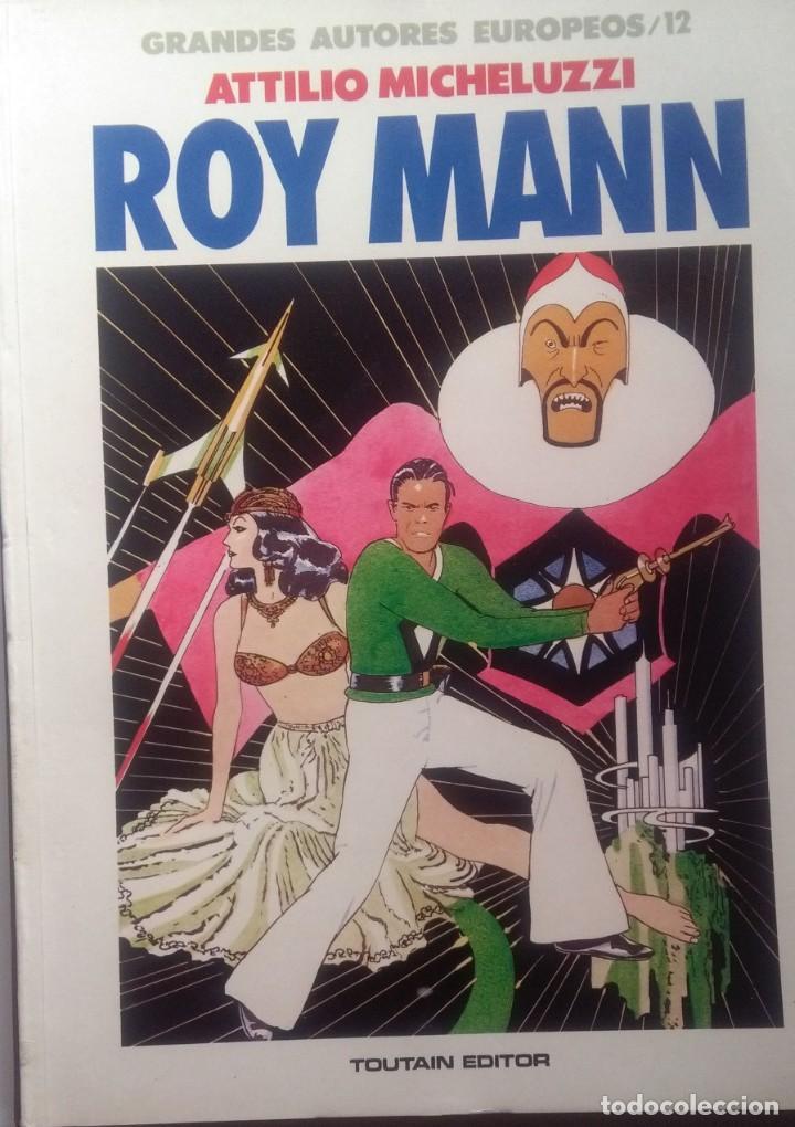 ROY MANN - ATTILIO MICHEZULLI (Tebeos y Comics - Toutain - Álbumes)