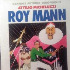 Cómics: ROY MANN - ATTILIO MICHEZULLI. Lote 209264366
