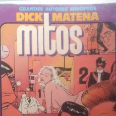 Cómics: MITOS - DICK MATENA. Lote 209264483