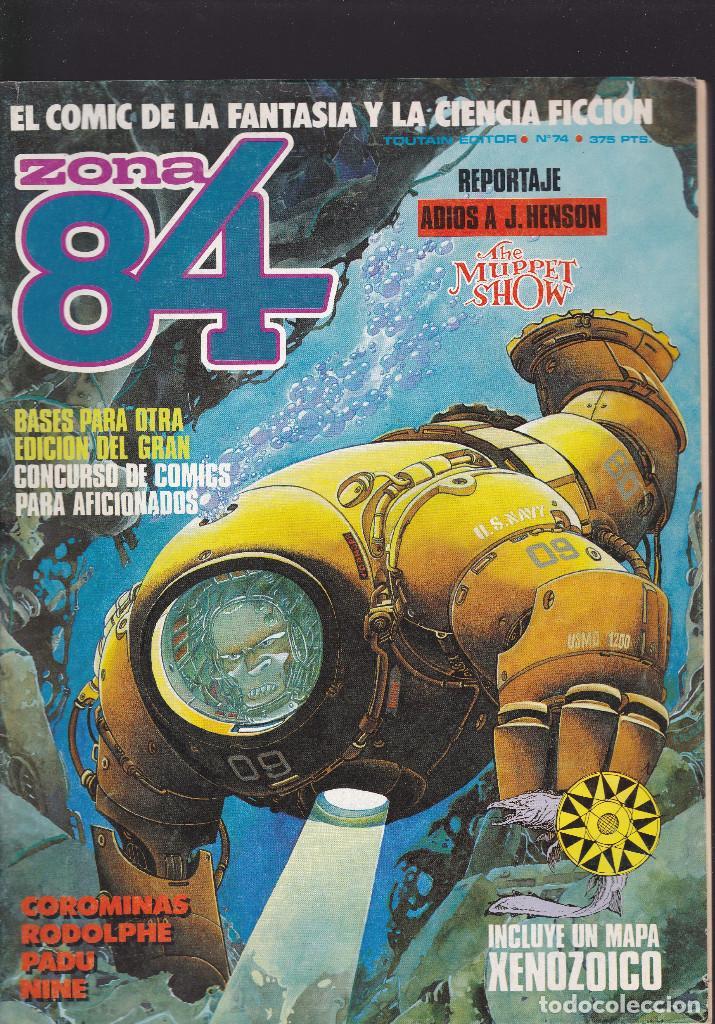 ZONA 84 ZONA84 - Nº 74 DE 96 - VII-1990 - TOUTAIN - (Tebeos y Comics - Toutain - Zona 84)