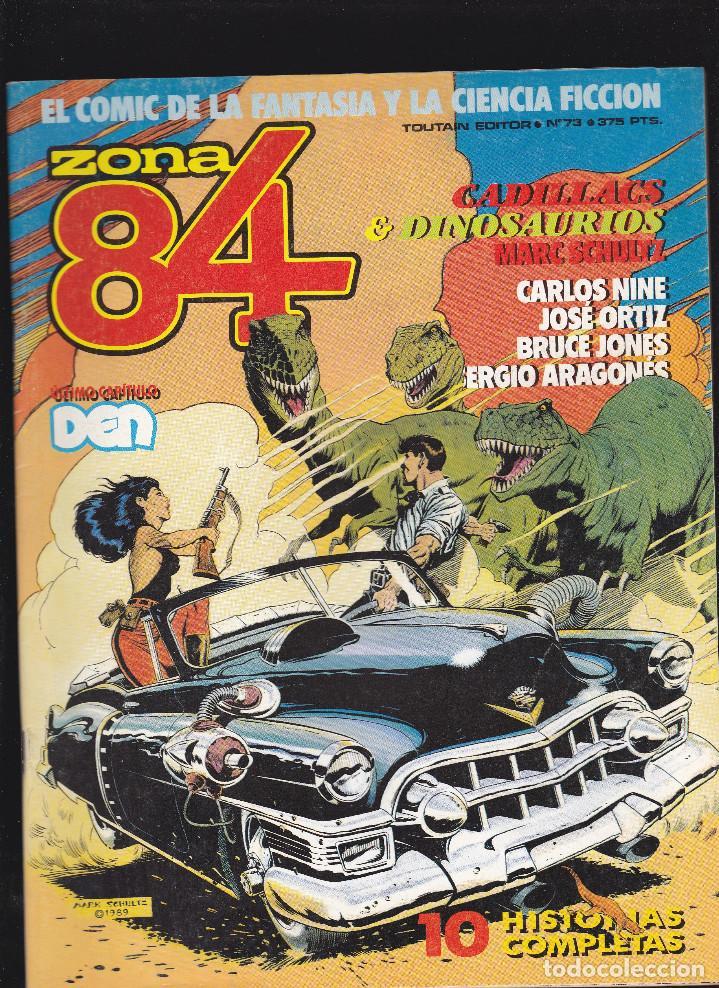 ZONA 84 ZONA84 - Nº 74 DE 96 - VI-1990 - TOUTAIN - (Tebeos y Comics - Toutain - Zona 84)
