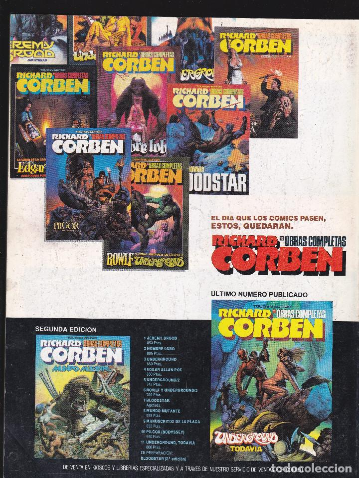 Cómics: ZONA 84 ZONA84 - Nº 89 DE 96 - V-1992 - TOUTAIN - - Foto 2 - 209336851