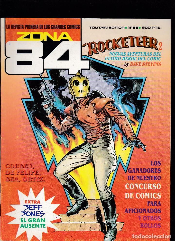 ZONA 84 ZONA84 - Nº 88 DE 96 - IX-1991 - TOUTAIN - (Tebeos y Comics - Toutain - Zona 84)