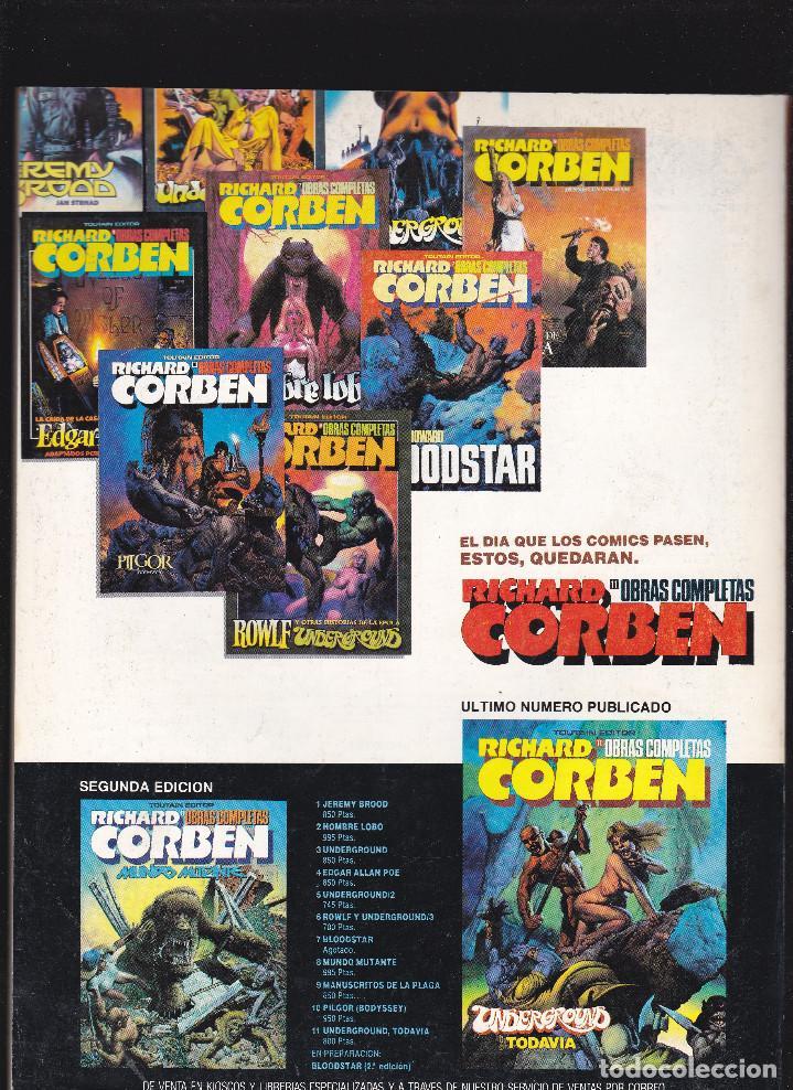 Cómics: ZONA 84 ZONA84 - Nº 88 DE 96 - IX-1991 - TOUTAIN - - Foto 2 - 209337050