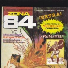 Comics : ZONA 84 ZONA84 - Nº 87 DE 96 - VIII-1991 - TOUTAIN -. Lote 209337491