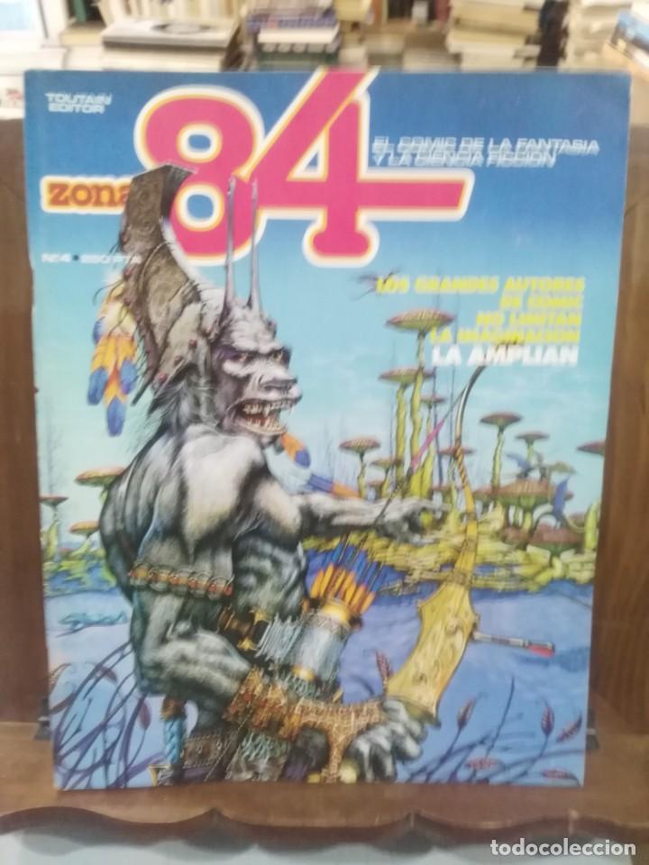 ZONA 84 - Nº 4 - EL COMIC DE LA FANTASÍA Y LA CIENCIA FICCIÓN - TOUTAIN (Tebeos y Comics - Toutain - Zona 84)