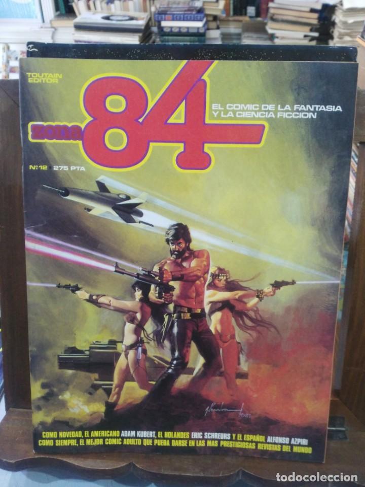 ZONA 84 - Nº 12 - EL COMIC DE LA FANTASÍA Y LA CIENCIA FICCIÓN - TOUTAIN (Tebeos y Comics - Toutain - Zona 84)