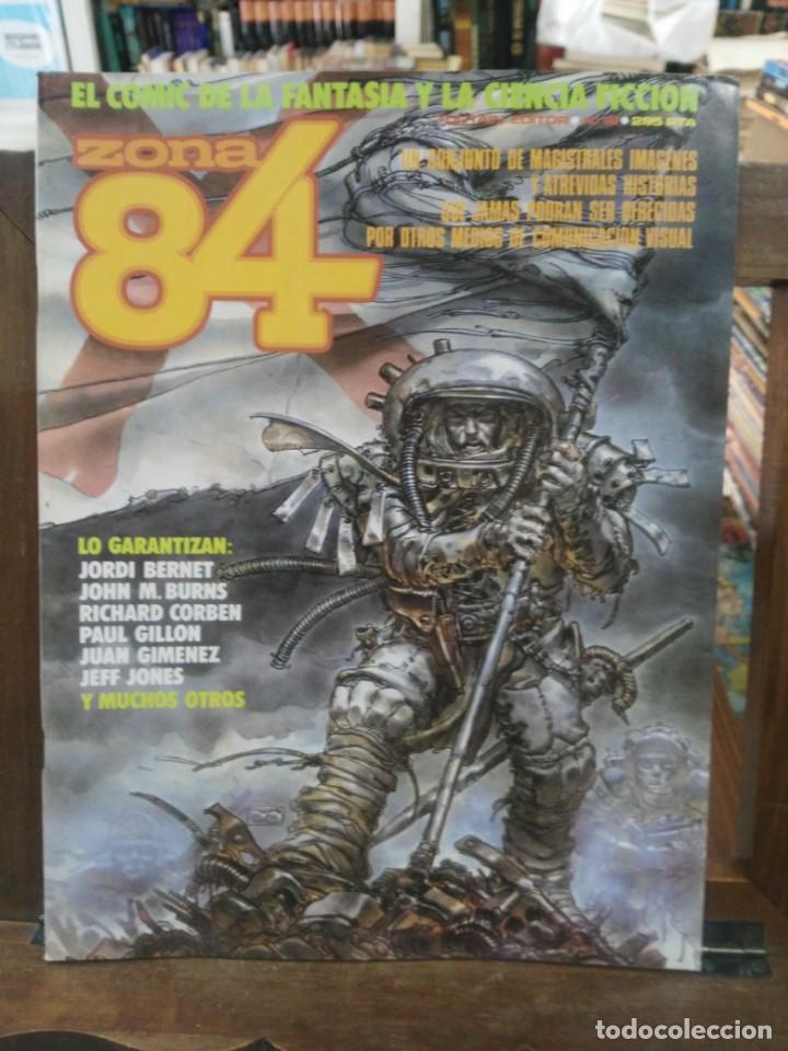 ZONA 84 - Nº 18 - EL COMIC DE LA FANTASÍA Y LA CIENCIA FICCIÓN - TOUTAIN (Tebeos y Comics - Toutain - Zona 84)