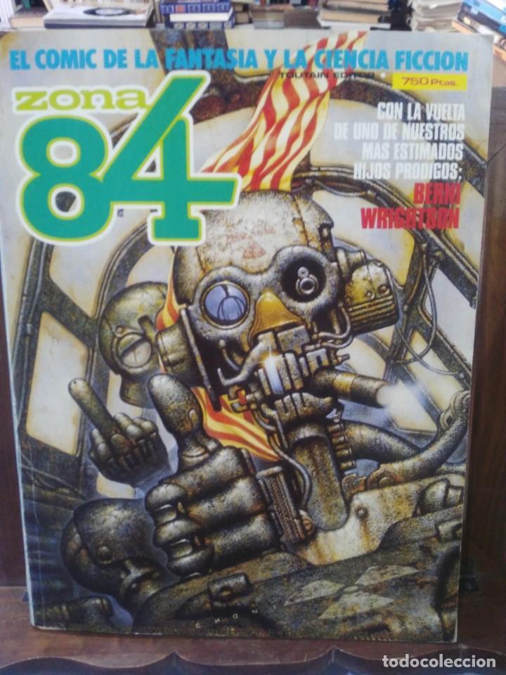 ZONA 84 - TOMO EXTRA 14 (NºS 41, 42, 43) - EL COMIC DE LA FANTASÍA Y LA CIENCIA FICCIÓN - TOUTAIN (Tebeos y Comics - Toutain - Zona 84)