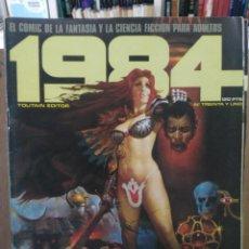 Cómics: 1984 - Nº 31 - COMIC DE FANTASÍA Y CIENCIA FICCIÓN - TOUTAIN EDITOR. Lote 209752863