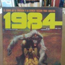 Cómics: 1984 - Nº 37 - COMIC DE FANTASÍA Y CIENCIA FICCIÓN - TOUTAIN EDITOR. Lote 209753298