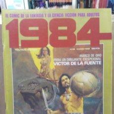 Cómics: 1984 - Nº 38 - COMIC DE FANTASÍA Y CIENCIA FICCIÓN - TOUTAIN EDITOR. Lote 209753367