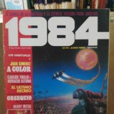 Cómics: 1984 - Nº 41 - COMIC DE FANTASÍA Y CIENCIA FICCIÓN - TOUTAIN EDITOR. Lote 209754435