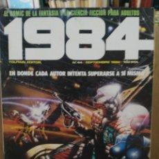 Cómics: 1984 - Nº 44 - COMIC DE FANTASÍA Y CIENCIA FICCIÓN - TOUTAIN EDITOR. Lote 209754716