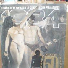 Cómics: 1984 - Nº 50 - COMIC DE FANTASÍA Y CIENCIA FICCIÓN - TOUTAIN EDITOR. Lote 209755037