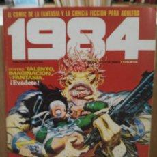 Cómics: 1984 - Nº 52 - COMIC DE FANTASÍA Y CIENCIA FICCIÓN - TOUTAIN EDITOR. Lote 209755103