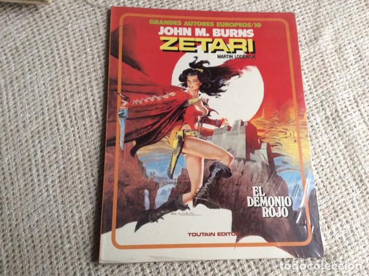ZETARI EL DEMONIO ROJO /AUTORES : JOHN M. BURNS - MARTIN LODEWIJK, - NUEVO (Tebeos y Comics - Toutain - Álbumes)