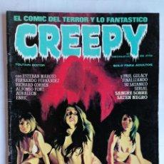 Cómics: CREEPY EL COMIC DEL TERROR Y LO FANTASTICO, Nº DIECINUEVE, AÑO 1979. Lote 209811035