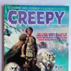 Cómics: CREEPY EL COMIC DEL TERROR Y LO FANTASTICO, Nº VEINTE, AÑO 1979. Lote 209811065