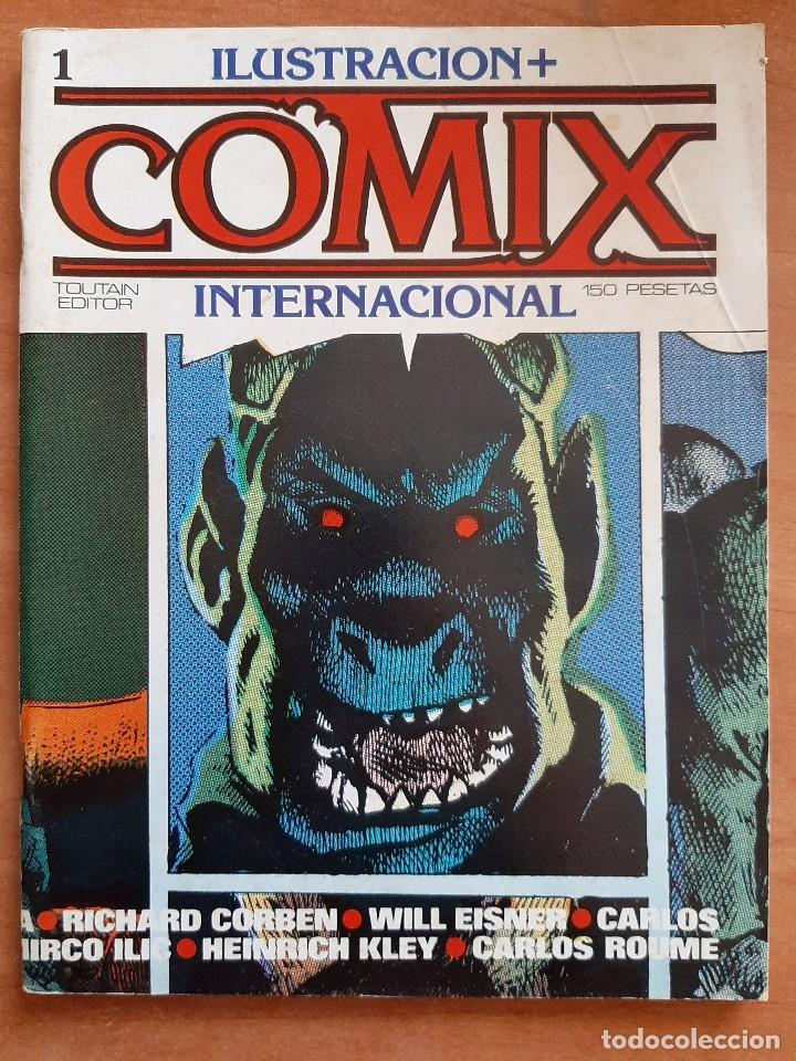 Nº 1 COMIX INTERNACIONAL (Tebeos y Comics - Toutain - Comix Internacional)