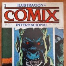 Cómics: Nº 1 COMIX INTERNACIONAL. Lote 209985860