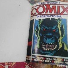 Comics: COMIX INTERNACINAL - TOMO 1, CONTIENE LOS NÚMEROS CON LAS PORTADAS DEL 1 AL 10 - TOUTAIN EDITOR. Lote 209992385