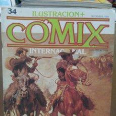 Fumetti: COMIX INTERNACIONAL - Nº 34 - ED. TOUTAIN. Lote 209993587