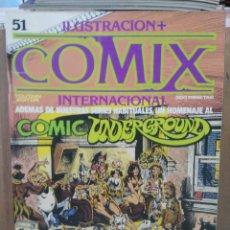 Comics : COMIX INTERNACIONAL - Nº 51 - ED. TOUTAIN. Lote 209996460