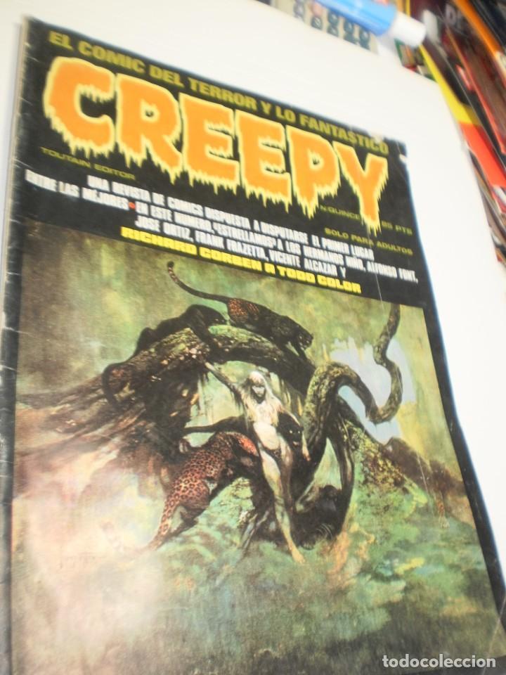 CREEPY Nº 15 1979 (ESTADO NORMAL, LEER) (Tebeos y Comics - Toutain - Creepy)