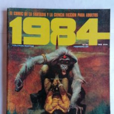 Comics : 1984, Nº 37, FEBRERO 82, EL COMIC DE LA CIENCIA FICCION PARA ADULTOS. Lote 210047476