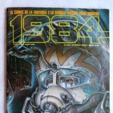 Cómics: 1984, Nº 60, ENERO 1984, EL COMIC DE LA CIENCIA FICCION PARA ADULTOS. Lote 210049327