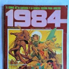 Cómics: 1984, Nº 61, FEBRERO 1984, EL COMIC DE LA CIENCIA FICCION PARA ADULTOS. Lote 210049445