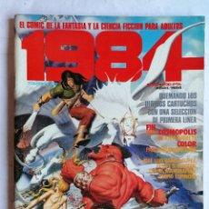 Cómics: 1984, Nº 63, ABRIL 1984, EL COMIC DE LA CIENCIA FICCION PARA ADULTOS. Lote 210049598