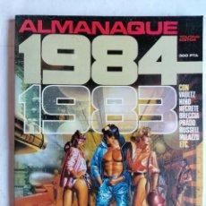 Cómics: ALMANAQUE 1983, EL COMIC DE LA FANTASIA Y LA CIENCIA FICCION PARA ADULTOS,. Lote 210051510