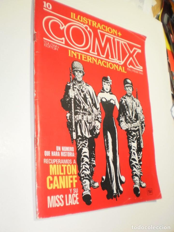 COMIX INTERNACIONAL Nº 10 TOUTAIN 1980 (BUEN ESTADO) (Tebeos y Comics - Toutain - Comix Internacional)