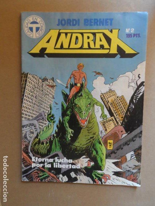 ANDRAX Nº 2 JORDI BERNET. EDITORIAL TOUTAIN (Tebeos y Comics - Toutain - Otros)