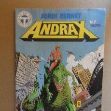 Cómics: ANDRAX Nº 2 JORDI BERNET. EDITORIAL TOUTAIN. Lote 210251295